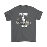 Proud Beatmaking Papa Mens T-shirt - Audio Swag