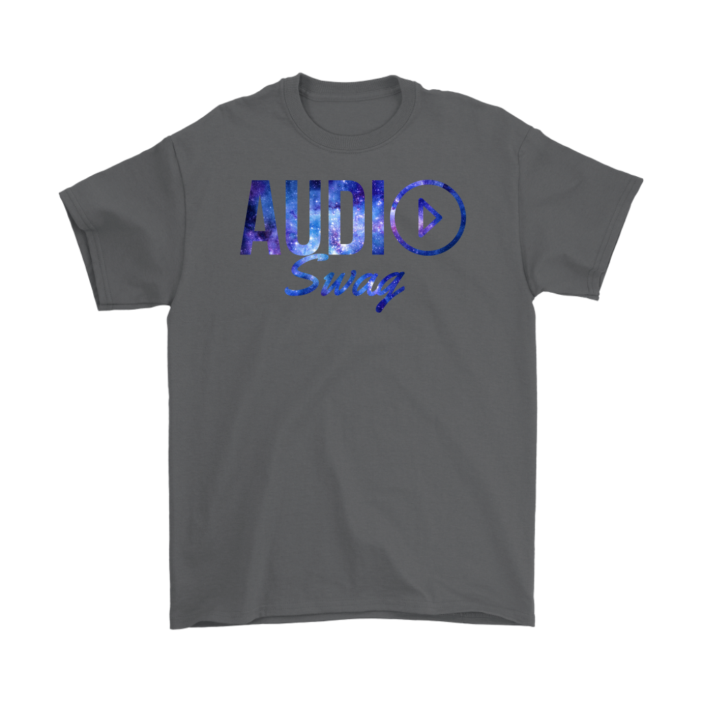 Audio Swag Cosmo Logo Mens T-shirt - Audio Swag