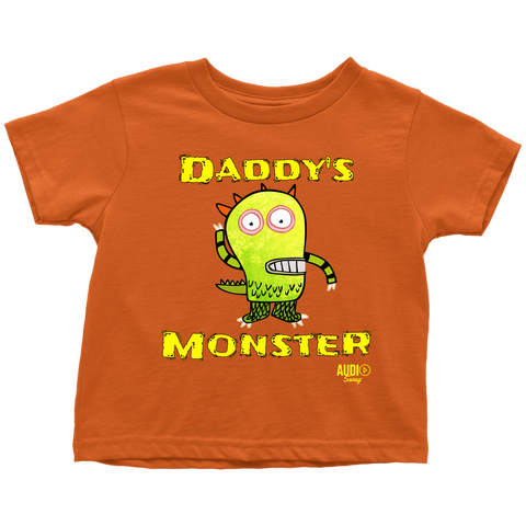 Daddy's Monster Toddler T-shirt