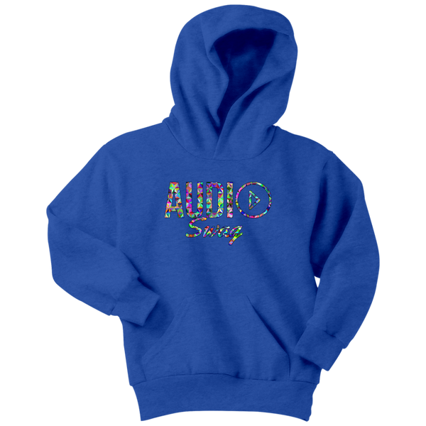 Audio Swag Geometric Logo Youth Hoodie - Audio Swag
