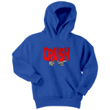 Crush It Motivational Youth Hoodie - Audio Swag