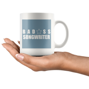 Bad@ss Songwriter Mug - Audio Swag