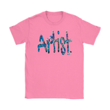 Artist. Ladies T-shirt - Audio Swag