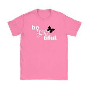 Be(You)tiful Inspirational Ladies T-shirt - Audio Swag
