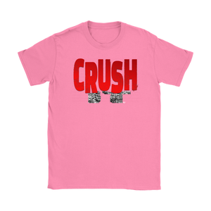 Crush It Motivational Ladies T Shirt - Audio Swag