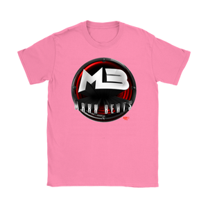 MAXXBEATS Red Logo Ladies Tee - Audio Swag