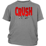 Crush It Motivational Youth T-Shirt - Audio Swag