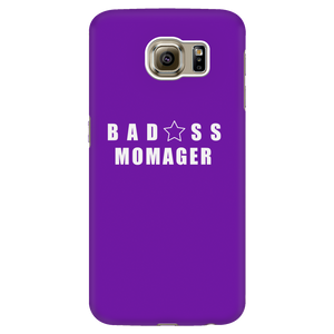 Bad@ss Momager Galaxy Phone Case - Audio Swag