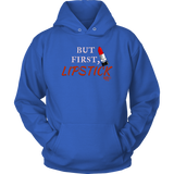 But First, Lipstick Hoodie - Audio Swag