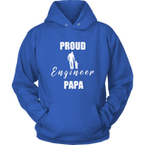 Proud Engineer Papa Hoodie - Audio Swag