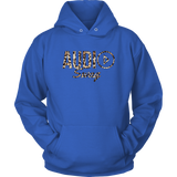 Audio Swag Leopard Logo Hoodie - Audio Swag