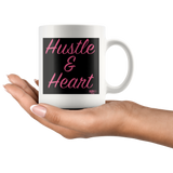Hustle & Heart Mug - Audio Swag