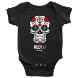 Sugar Skull Audio Swag Baby Bodysuit - Audio Swag