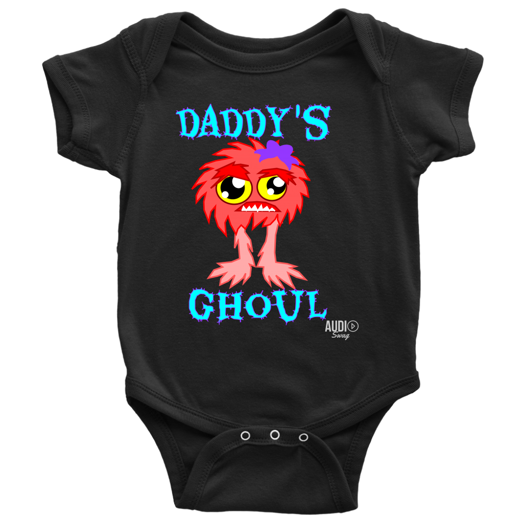 Daddy's Ghoul Baby Bodysuit - Audio Swag