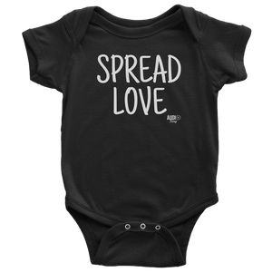 Spread Love Baby Bodysuit - Audio Swag