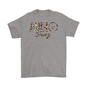 Audio Swag Leopard Logo Mens T-shirt - Audio Swag