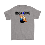 Michelle Strong Mens T-shirt - Audio Swag
