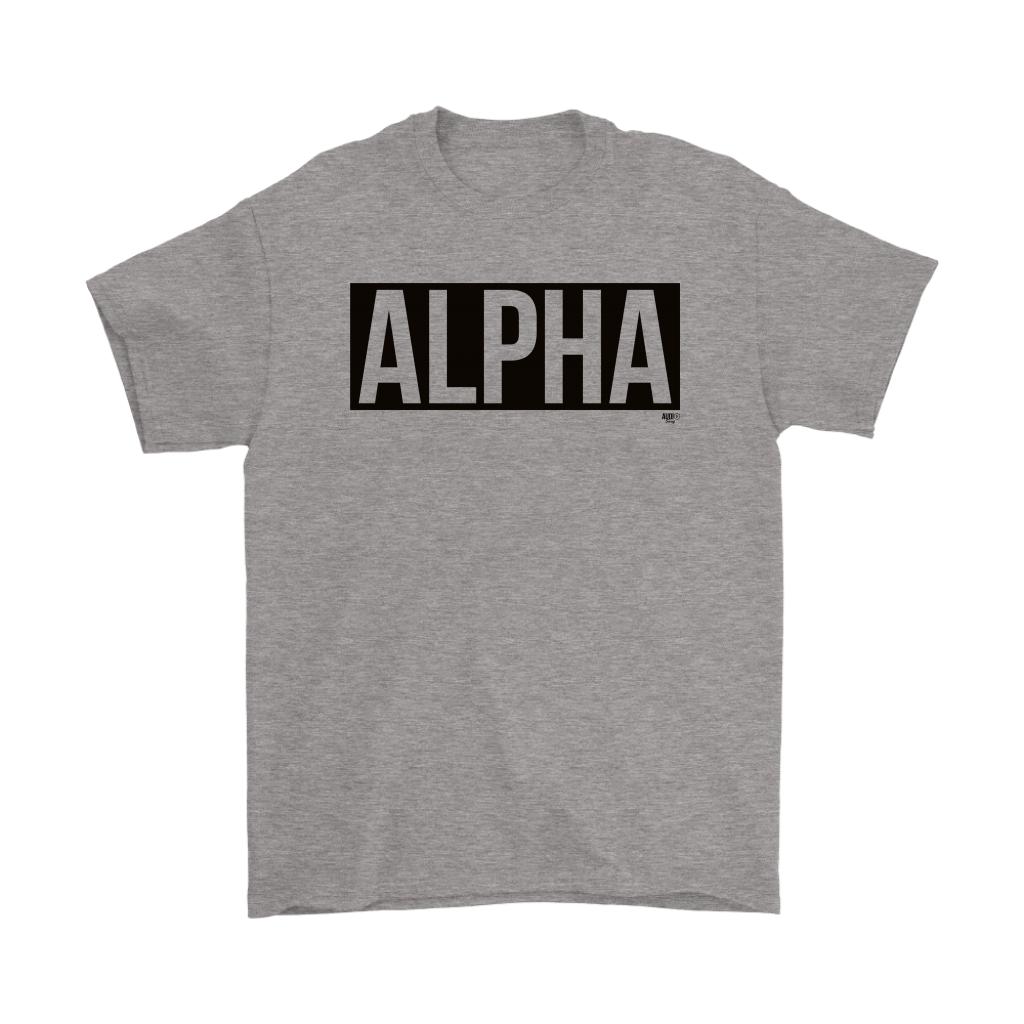 Alpha Mens T-shirt - Audio Swag