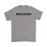 #Blessed Mens T-Shirt - Audio Swag