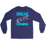 Break The Chains Long Sleeve T-shirt - Audio Swag