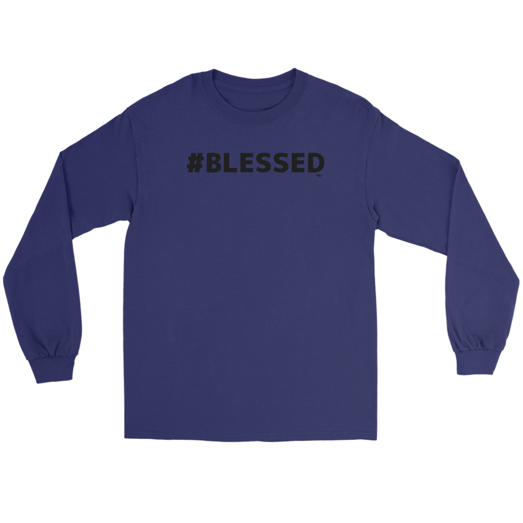 #Blessed Long Sleeve T-shirt - Audio Swag