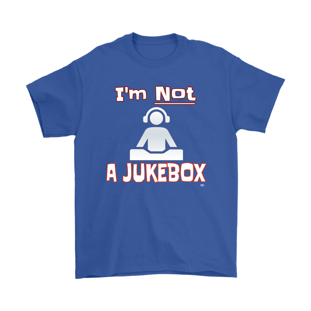 Im Not A Jukebox Mens Tee - Audio Swag