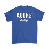 Audio Swag White Logo Mens T-shirt