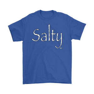 Salty Mens T-shirt - Audio Swag