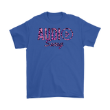 Audio Swag Pink Cheetah Logo Mens T-shirt - Audio Swag