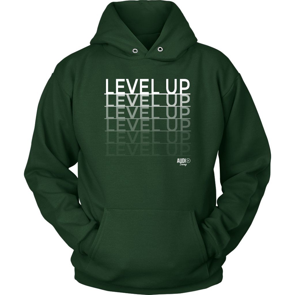 Level Up Fade Hoodie - Audio Swag