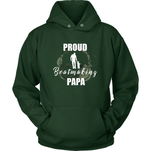 Proud Beatmaking Papa Hoodie - Audio Swag