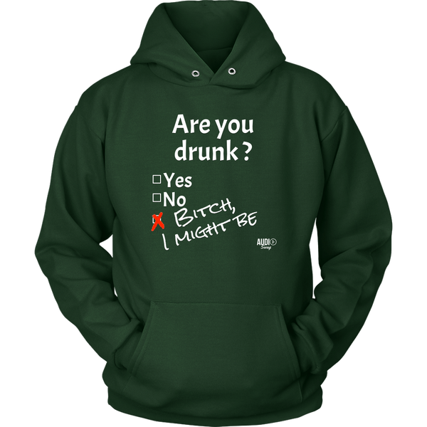 Are You Drunk Hoodie - Audio Swag