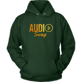 Audio Swag Gold Logo Hoodie - Audio Swag