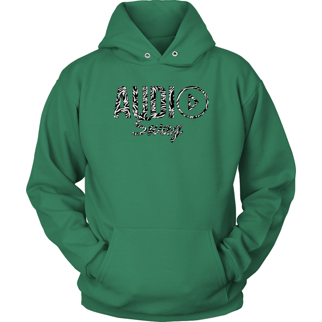 Audio Swag Zebra Logo Hoodie - Audio Swag