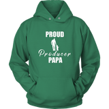 Proud Producer Papa Hoodie - Audio Swag
