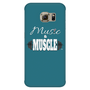 Music & Muscle Galaxy Phone Case - Audio Swag