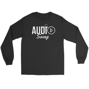 Audio Swag Music Logo Long Sleeve T-shirt - Audio Swag