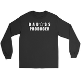 Bad@ss Producer Long Sleeve T-shirt - Audio Swag