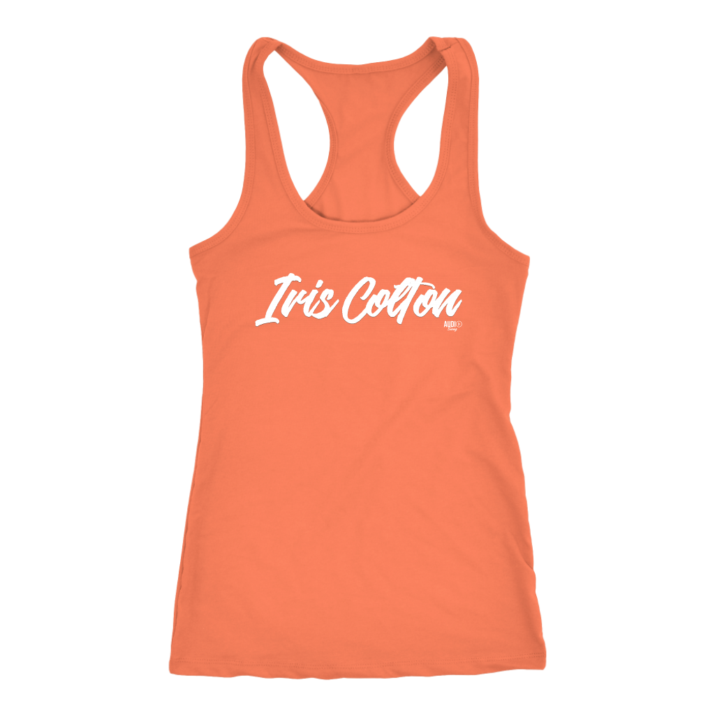 Iris Colton Logo Ladies Tank Top - Audio Swag