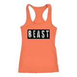 Beast Ladies Racerback Tank Top - Audio Swag