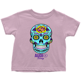 Sugar Skull Rose Toddler T-shirt - Audio Swag