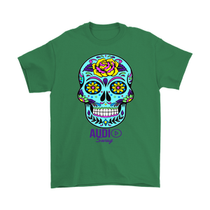 Sugar Skull Rose Mens T-shirt