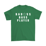 Bad@ss Bass Player Mens Tee - Audio Swag