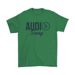 Audio Swag Dark Logo Mens Tee - Audio Swag