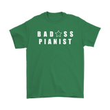 Bad@ss Pianist Mens Tee - Audio Swag