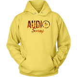 Audio Swag Fire Logo Hoodie - Audio Swag