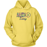 Audio Swag Geometric Logo Hoodie - Audio Swag