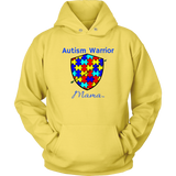 Autism Warrior Mama Hoodie - Audio Swag