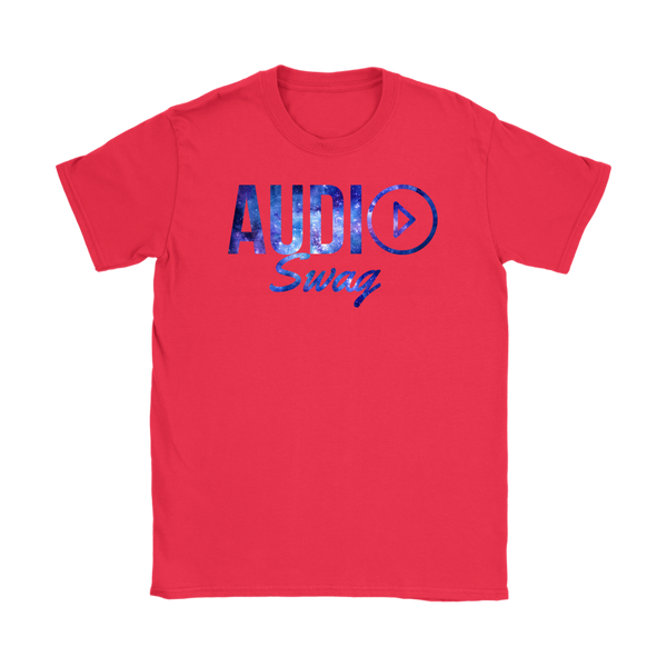 Audio Swag Cosmo Logo Ladies T-shirt - Audio Swag
