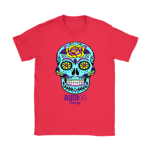 Sugar Skull Rose Ladies T-shirt